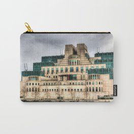 MI6 Building London Carry-All Pouch