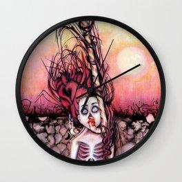 Partially Dreaming Wall Clock