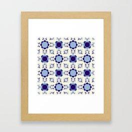 Portuense Tile Framed Art Print