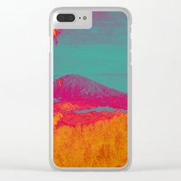 Acid & Energy Landscape Clear iPhone Case