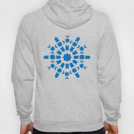 Blue Arabesque Hoody