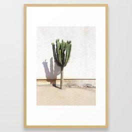 El Jefe Framed Art Print