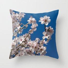 Almond blossom (the Algarve, Portugal) Throw Pillow