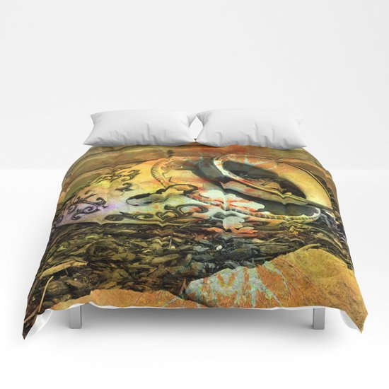 Cracked Pottery Comforters