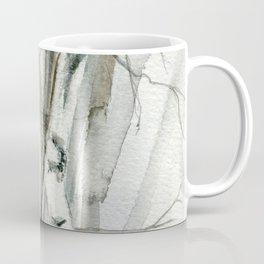 Winter Birch Trees Woodland Watercolor Original Art Print Coffee Mug
