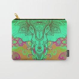 Aqua Ganesha Carry-All Pouch
