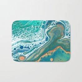 Acrylic Coastal Pour Bath Mat