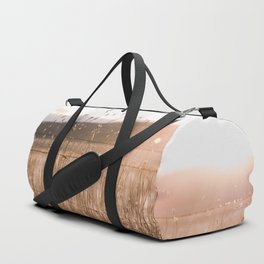 And So The Adventure Begins - Rustic Western Duffle Bag