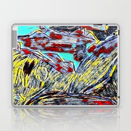 Mountains in the color Laptop & iPad Skin