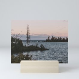 The View From Copper Harbor Mini Art Print