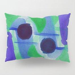 Watercolor Abstract Pillow Sham