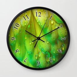 Petal Drops Wall Clock