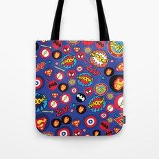 Movie Super Hero logos Tote Bag
