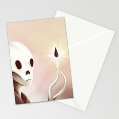 oil worshipper Stationery Cards