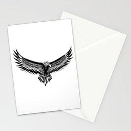 Wild eagle ecopop Stationery Cards