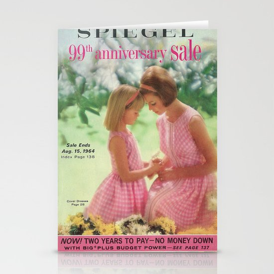 1964 - 99th Anniversary Sale Catalog Cover Stationery Cards