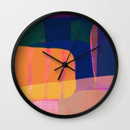 Morning with you abstract Wall Clock