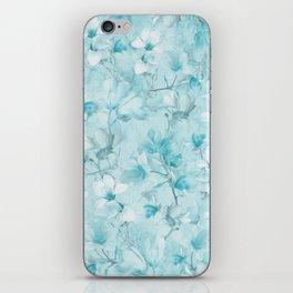 BLUE MAGNOLIAS iPhone Skin