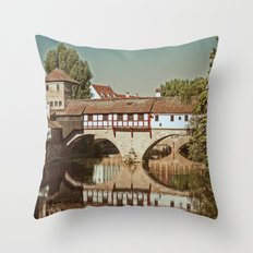 Romantic Nuremberg Throw Pillow