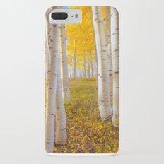 Aspens In Autumn, Utah iPhone 7 Plus Slim Case