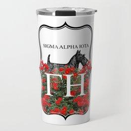 Scottie Roses Travel Mug