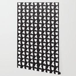 The Black&White Gnome Wallpaper