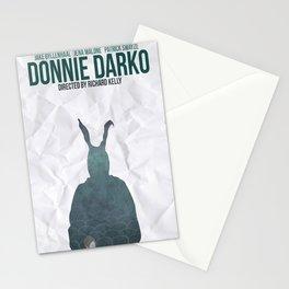 Donnie Darko Movie Poster Stationery Cards