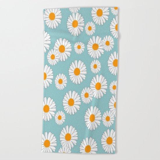 Marguerite-104 Beach Towel
