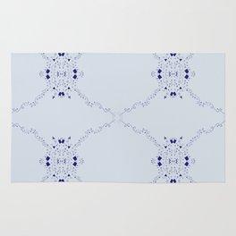 Confetti Arrow in blue Rug