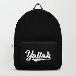 Arabic Yallah Art Work   Habibis Habibo Gifts Backpack