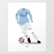 New York City FC 2015 Art Print
