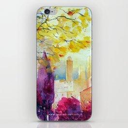 San Gimignano iPhone Skin