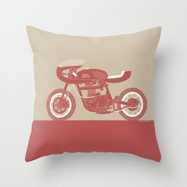 royal enfield special Throw Pillow