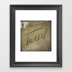 iF:Tweed Framed Art Print