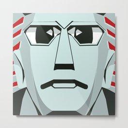 Johnny Sokko's Flying Robot Metal Print