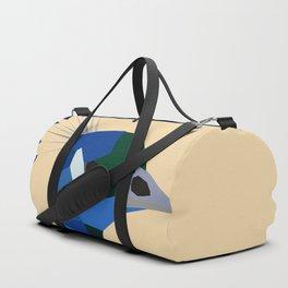 PEACOCK LOW POLY ART Duffle Bag