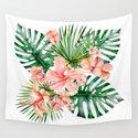 Tropical Jungle Hibiscus Flowers - Floral by originalaufnahme