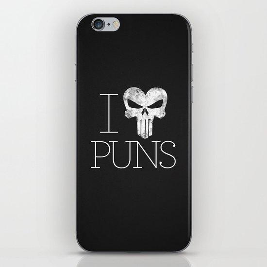 PUNisher iPhone & iPod Skin