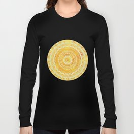 Sun Mandala 4 Long Sleeve T-shirt