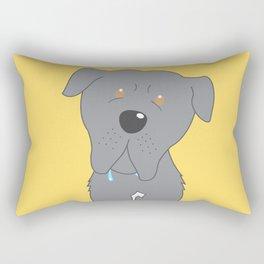 Oscar (Dog Characture) Rectangular Pillow