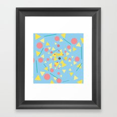 Chaos around you Framed Art Print