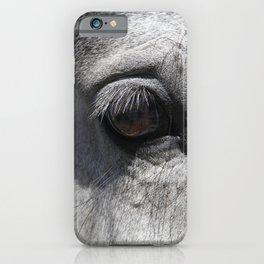 Horse Eye | Animal Photography iPhone Case