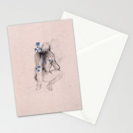 Man in Roses Stationery Cards