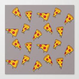 Pizza slices Canvas Print