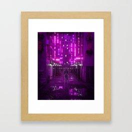 Infiltrated Framed Art Print