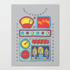 Retrobot Canvas Print