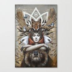 Kwanita Canvas Print
