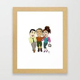 The Forager's Crew Framed Art Print