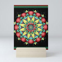 Scarlett Mandala Mini Art Print