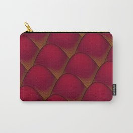 Wave Value in Red Carry-All Pouch